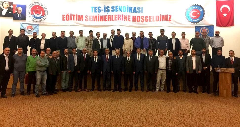 TES-İŞ'TE EĞİTİM SEMİNERİ
