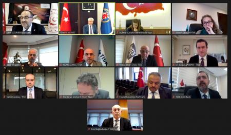 ASGARİ ÜCRET TESPİT KOMİSYONU 3. TOPLANTISI TÜRK-İŞ'İN EV SAHİPLİĞİNDE GERÇEKLEŞTİRİLDİ